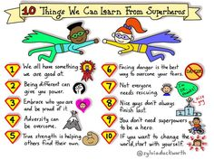 OMG I love this!!! #9 You don't need superpowers to be a hero.  #parenting #superheros