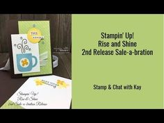 Stampin' Up! Rise & Shine Coffee Card with Sequins - Stamping To Share Appreciation Cards, Coffee Cards, Glue Dots, Friendship Cards, Step By Step Instructions, Stampin Up, How To Make, Sequins, Kettles