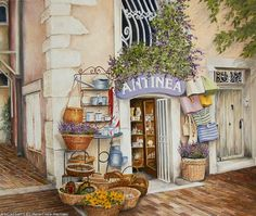 Marie-Claire Houmeau Antinea - Provence