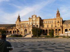 Plaza de España Sevilla.