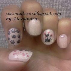 nail inspirada em Leticia Carla do blog divino esmalte