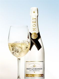 Here's something to enjoy this summer - French champagne house Moët & Chandon has created a bubbly meant to be enjoyed on ice!