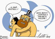 """ITALIAN COMICS - """"Il Mondo in una vignetta"""" di Ignazio Piscitelli - Ignant: Un consiglio di un saggio amico…"""