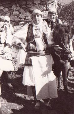 Albanian costumes from Sharr, Prizren, Kosovo