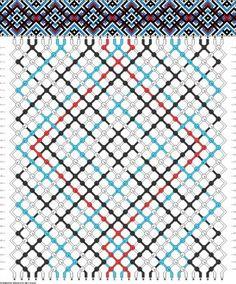 фенечки косым плетением схемы - Поиск в Google
