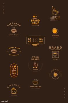 Who Moves Furniture For Carpet Installations Coffee Shop Branding, Coffee Shop Logo, Cafe Branding, Cafe Logo, Coffee Shop Design, Coffee Cafe, Coffee Packaging, Business Branding, Graphic Design Fonts