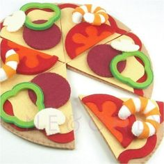 pizza-this would be fun for a quiet book