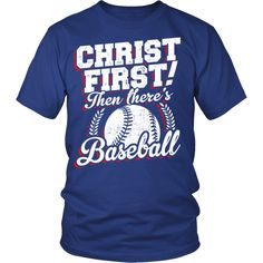 Christ First! - Then There's Baseball