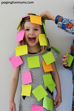 post it note game- minute to put as many post it notes on your partner as you can