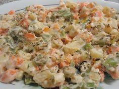 Receita de Salada de legumes diferente - Tudo Gostoso