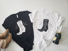 Boots and Bling Before the Ring Shirts, Bachelorette Party, Nashville Party, Bridesmaid Shirts Bridesmaid Shirts, Bridesmaids, Bridesmaid Dresses, Wedding Dresses, Monogram T Shirts, Concert Shirts, Bachelorette Party Shirts, Drinking Shirts, Dad To Be Shirts