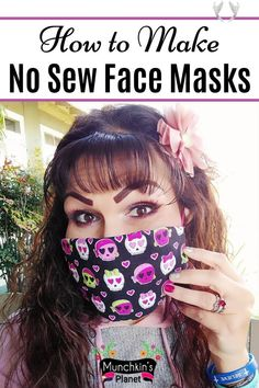 homemade bandana facemask homemade bandana facemask Learn how to make DIY face mask without sewing pattern with these video tutorials. These no-sew face masks are easy to make from any fabric, T-Shirt, sock, leggings, bandana and rubber bands. Homemade face masks can be used with coffee filters for extra protection against germs. Cloth face mask is not a replacement for a medical mask or N95 respirators but it is an effective face covering to curb the spread of viruses and germs. #facemask… Diy Mask, Diy Face Mask, Homemade Face Masks, Facemask Homemade, How To Make Diy, Sock Leggings, New Trends, Coffee Filters, Kylie Jenner