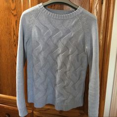 💥FINAL💥Crewneck Sweater Lands' End Drifter long sleeve crewneck sweater, barely worn, 100% cotton, excellent condition with no signs of wear. Lands' End Sweaters Crew & Scoop Necks