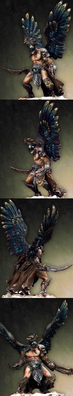 CoolMiniOrNot - Arkevenger -GEHENNA by Pegaso Models by rusto
