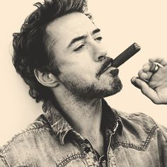 Rober Downey Jr. #actor-just so manly!