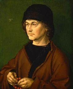 Artist father's portrait by Albert Durero