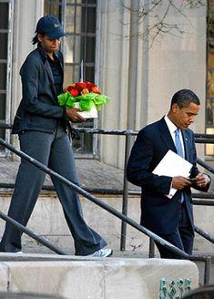 As President Barack Obama turns 50 Thursday, see how he's kept his family grounded