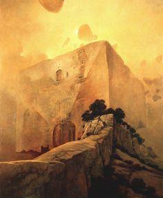 Zdzislaw Beksinski Gallery: Surreal paintings of Zdzisław Beksiński (1975)
