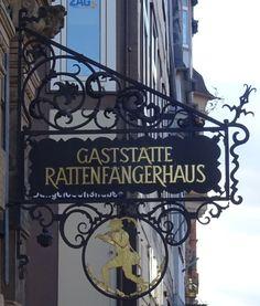 Hameln - Ostrasze 28 -Gaststätte Rattenfängerhaus