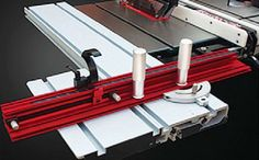 """#Sliding #Table  Price: £416.00  Upgrade the table saw to have the capacity of small sliding table panelsaw • Easily installs on most table saws • Incease crosscutting capabilities to 48"""" • Features a telescopic crosscutting capabilities • Built-in flip stop for repeat cuts • Industrial-grade sliding table with a linear guide mechanism for precision cuts. Specifications • Table size : 47"""" * 9"""" (1220*230mm)........      http://www.woodfordtooling.com/accessories/saw-blades/sliding-table.html"""