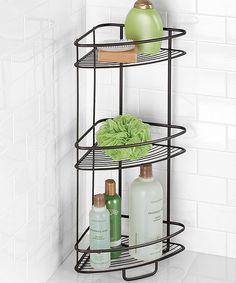 Another great find on #zulily! Axis Three-Tier Shower Shelf by InterDesign #zulilyfinds