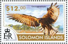 Swamp Harrier stamps - mainly images - gallery format