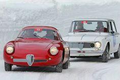 Alfa Giulia SZ en Giulietta Super
