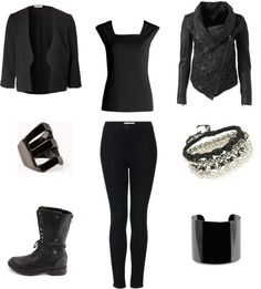 """Outfit inspired by Vixx's music video """"Hyde"""""""