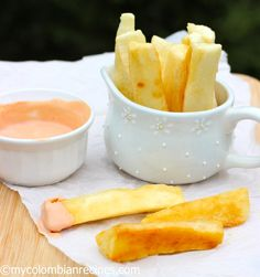 Yuca Frita (Fried Cassava)