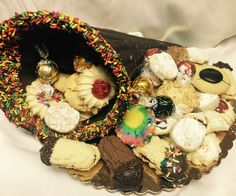 Chocolate Cornucopia Cookie Platter - Mueller's Bakery