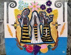Melissae- Bee Priestesses of Greece on Behance