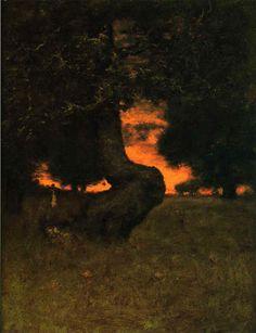Sundown George Inness - circa 1889