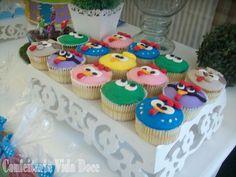Cupcake Galinha Pintadinha - Carinha dos Personagens
