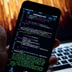 Would you ever code on a mobile phone? Learn Computer Coding, Computer Programming, Computer Science, College Aesthetic, Retail Solutions, Innovation Lab, Old Computers, Secret To Success, Study Motivation