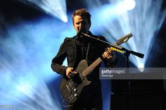Matt Bellamy of Muse performs on stage during BBC Radio 1's Big Weekend at Earlham Park on May 23, 2015 in Norwich, England.