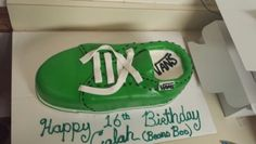 Vans cake