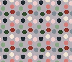 Tropical polka dot fabric by bruxamagica on Spoonflower - custom fabric #fabric #wallpaper #giftwrap #sewing #sew #indiefabric #designer #surfacepattern #quilting #tropical