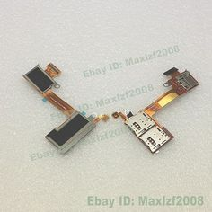 New SIM & Micro SD Reader Flex Cable Ribbon For SONY XPERIA M2 D2303 D2305 D2306