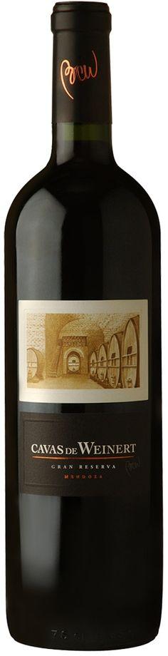 """Cavas de Weinert Gran Vino"" 40% cabernet sauvignon / 40% malbec /20% merlot 2003 - Bodega Weinert, Luján de Cuyo, Mendoza------------------------------- Terroir: Luján de Cuyo------------ Crianza: 3 años en toneles de roble francés"