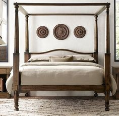 Image result for painted tall post beds