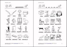 Speech Therapy, Literacy, Worksheets, Kindergarten, Spanish, School, Diana, Bullet Journal, Google