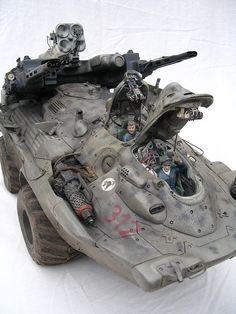 Sci-Fi 28Mm Vehicles | Military Vehicle, Mark Stevens