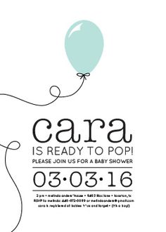 Baby Shower Invitations & Save The Date Magnets | Paper Snaps