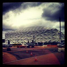 hebbelito's photo of London 2012 Basketball Arena on Instagram