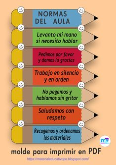 Every child needs to be well educated, but this doesn't necessarily entail sending your child to school. Bilingual Classroom, Classroom Rules, Classroom Language, Spanish Classroom, Teaching Spanish, Classroom Themes, Birthday Chart Classroom, Class Decoration, School Decorations