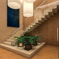 Stairs design for duplex house staircase designs for homes awesome Home Stairs Design, Railing Design, Interior Stairs, Modern House Design, Stair Design, Staircase Design Modern, Interior Garden, Home Interior Design, India House