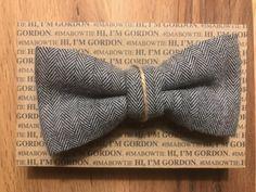 Noeud papillon GORDON by Lauren Vickers - London Gentleman Shop, London, Shopping, Hair Bow, Butterflies, Weddings, Accessories