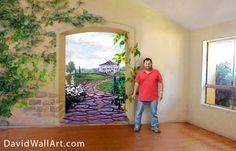 photo of wall mural - www.davidwallart.com