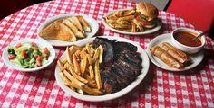 Doe's Eat Place  1023 W. Markham St.  Little Rock, AR  501.376.1195 • doeseatplace.net