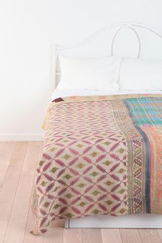 One-Of-A-Kind Kantha Quilt $279